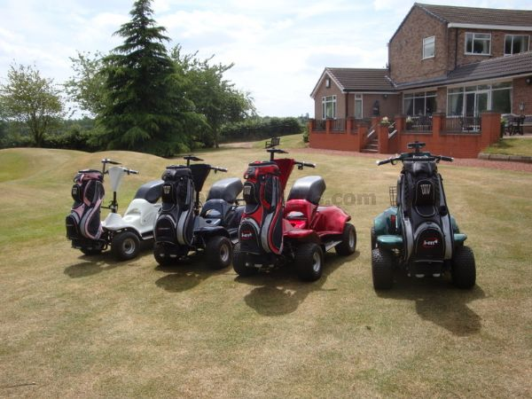 Golf Buggies In Variety Colours