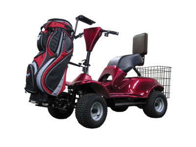 IM4 Electric Golf Buggy In Red